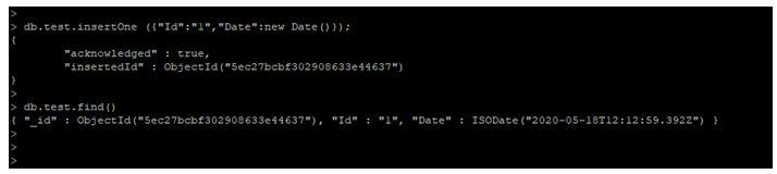 MongoDB Date Query 5JPG