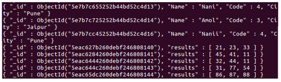 MongoDB $elemMatch 1