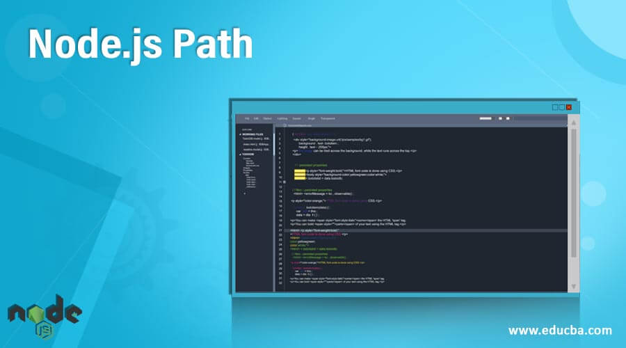 Node.js Path