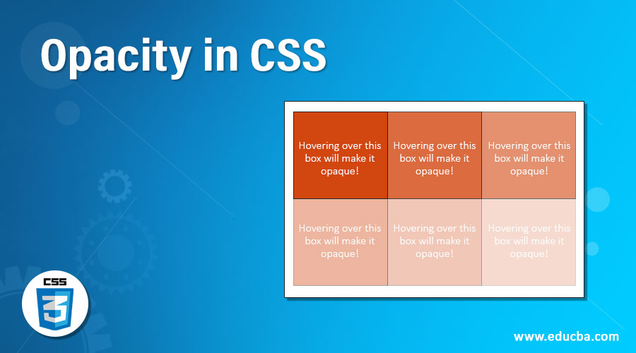 Opacity in CSS