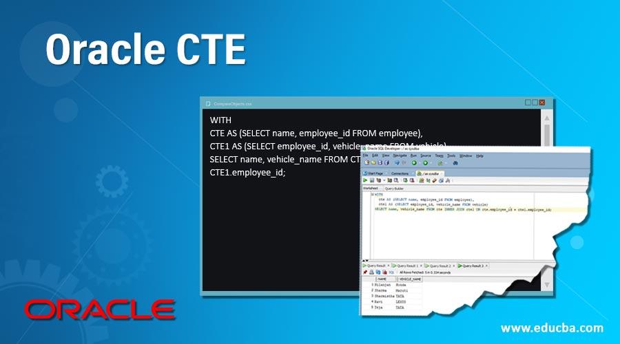 Oracle CTE