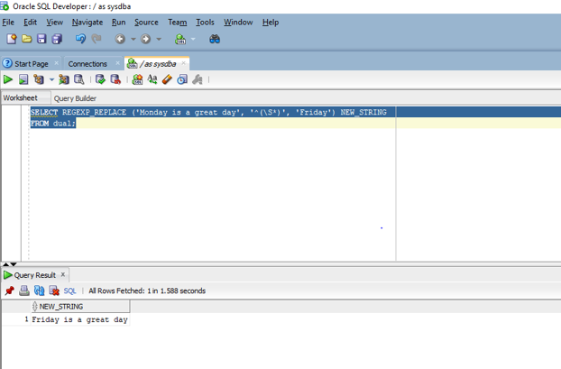Oracle REGEXP_REPLACE - 2