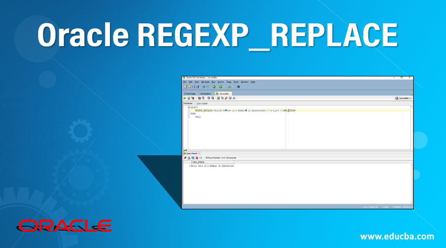 Oracle REGEXP_REPLACE
