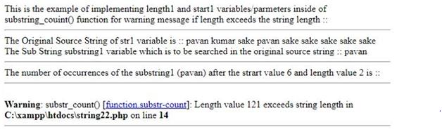 Warning Type Example 4