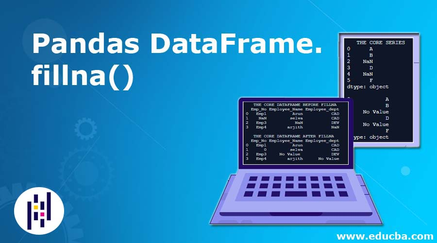 Pandas DataFrame.fillna()