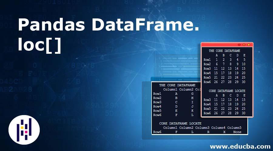 Pandas DataFrame.loc[]