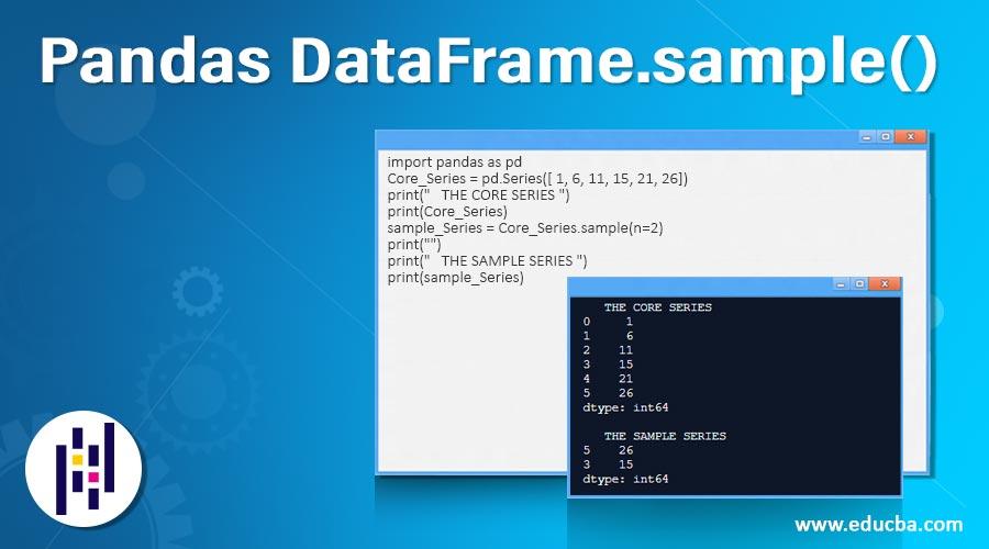 Pandas DataFrame.sample()