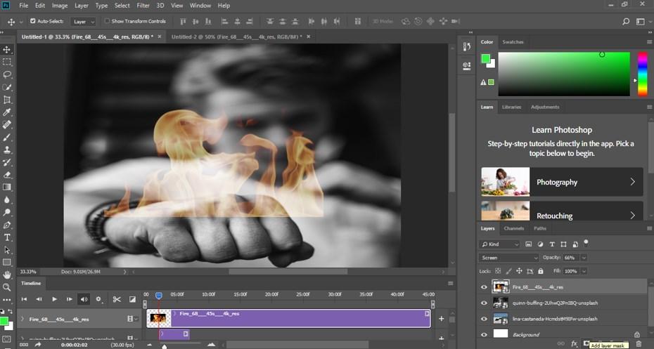 Photoshop Cinemagraph - 10