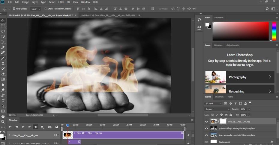 Photoshop Cinemagraph - 11