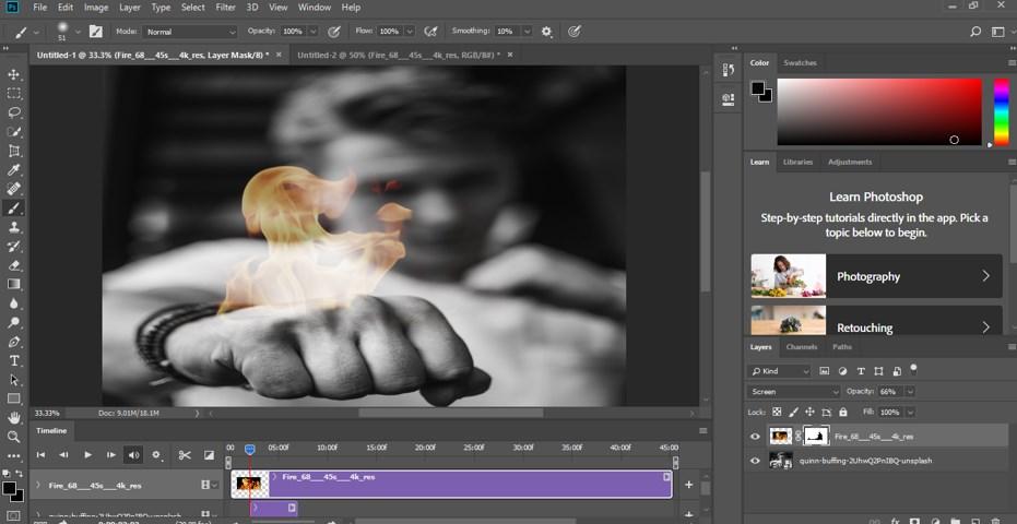 Photoshop Cinemagraph - 14