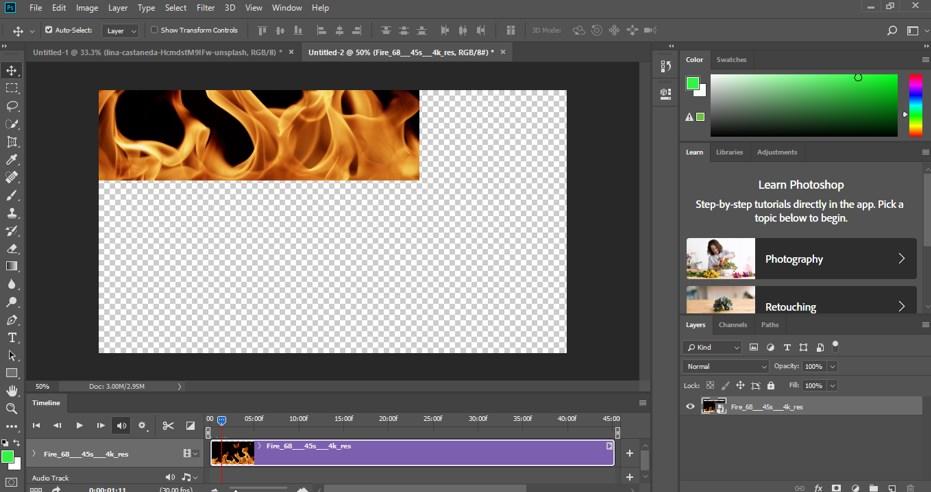 Photoshop Cinemagraph - 7