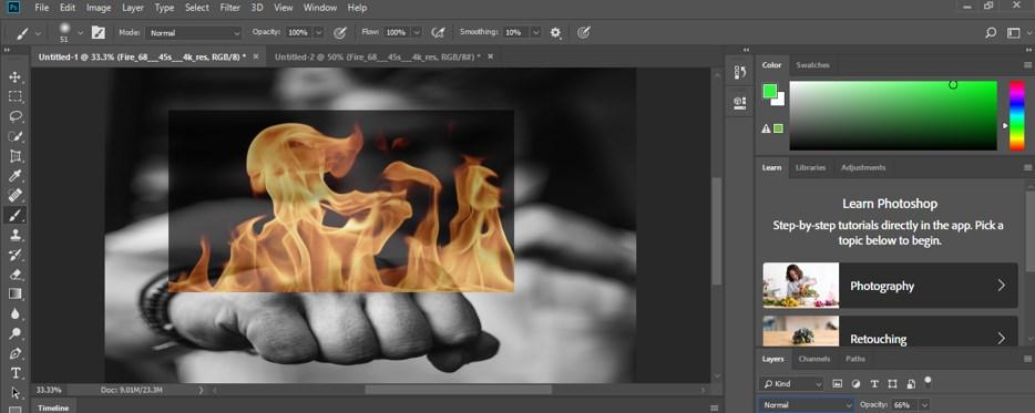 Photoshop Cinemagraph - 8