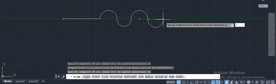 Polyline in AutoCAD - 12