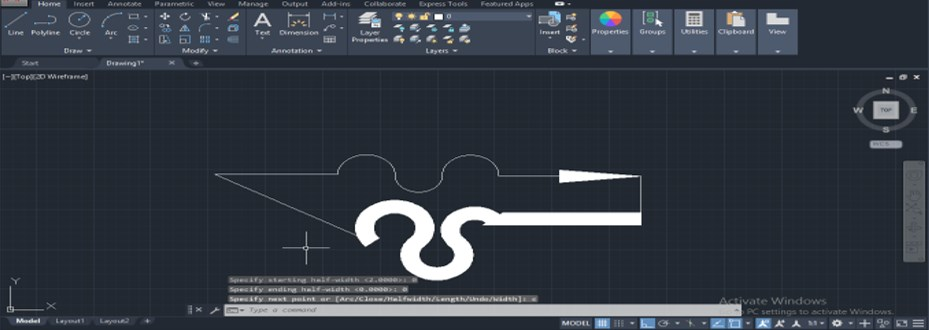 Polyline in AutoCAD - 21