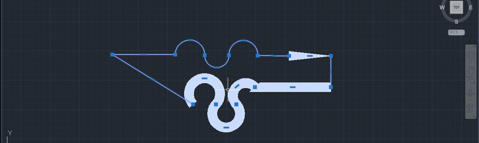 Polyline in AutoCAD - 22