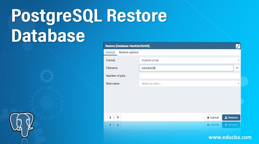 PostgreSQL-Restore-Database