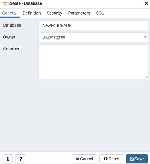 PostgreSQL Restore Database - 1
