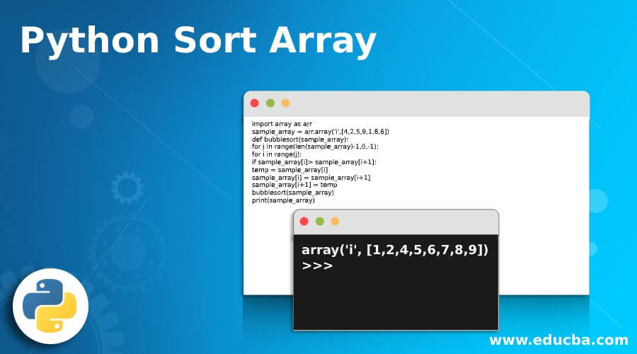 Python Sort Array