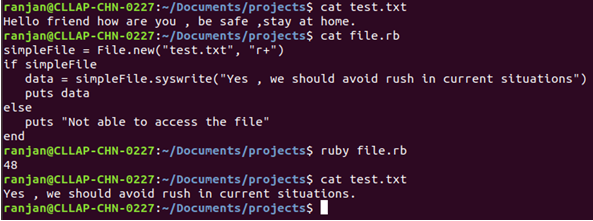 Ruby Write to File Example 1