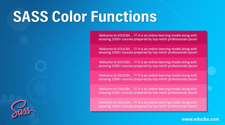SASS-Color-Functions