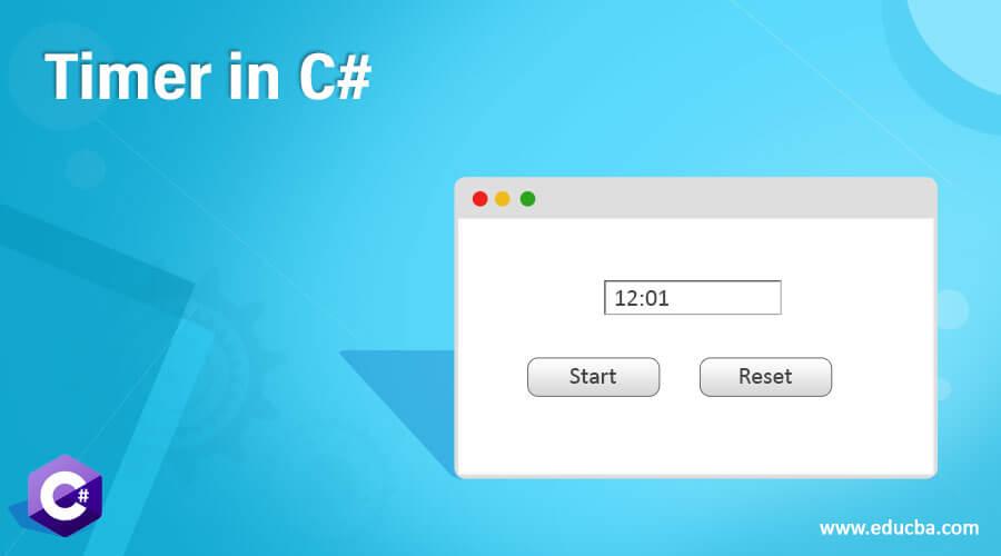 Timer in C#