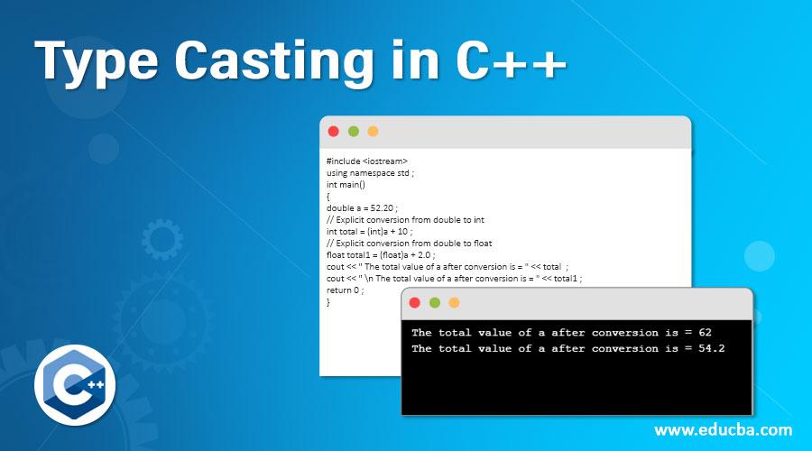 Type Casting in C++