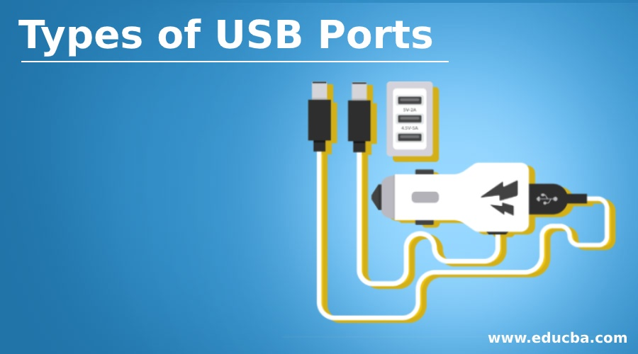 Types of USB Ports
