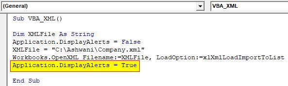 VBA XML Example 1-8