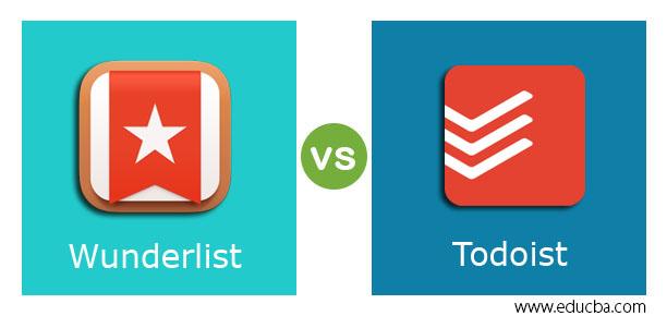 Wunderlist vs Todoist