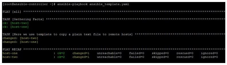 ansible template 1