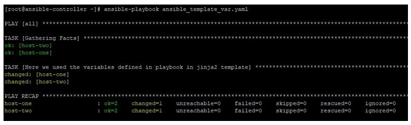 After deploying this playbook