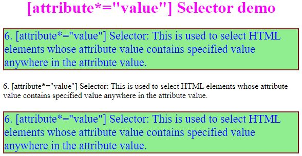 css attribute selector6