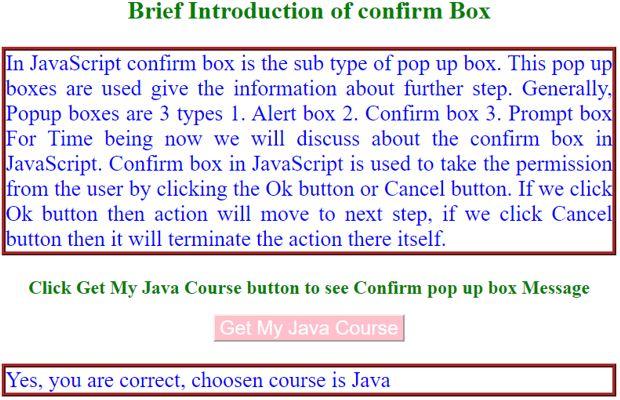 javascript confirm10