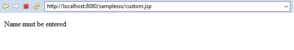 jsp filters output 1