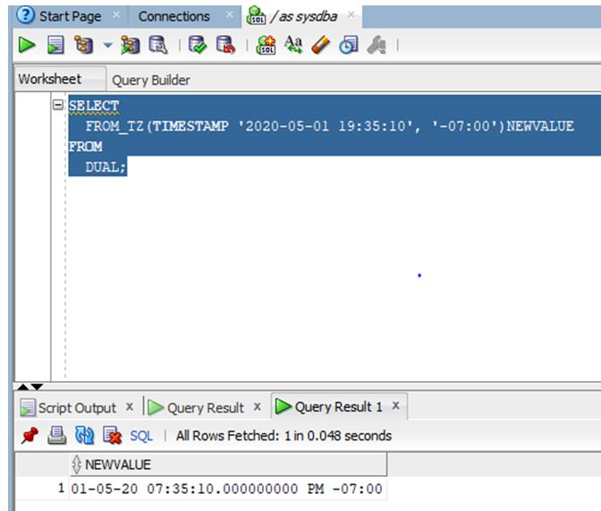 oracle date function 10