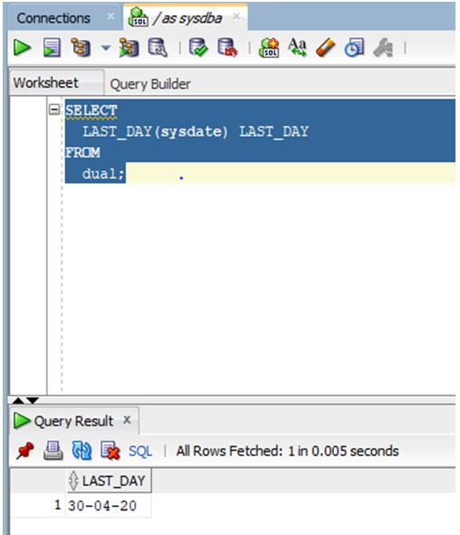 oracle date function 5