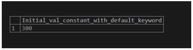 postgreSQL Variables 3