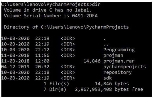 python directories 2