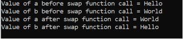 swap() in C++3