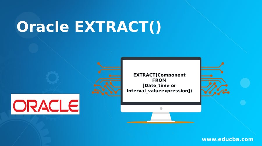 Oracle EXTRACT()