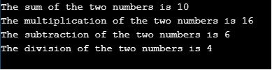 two parameters