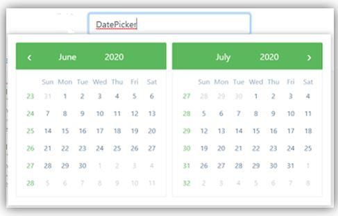 Angular Bootstrap Datepicker 2