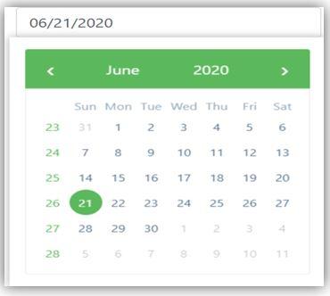 Angular Bootstrap Datepicker 5
