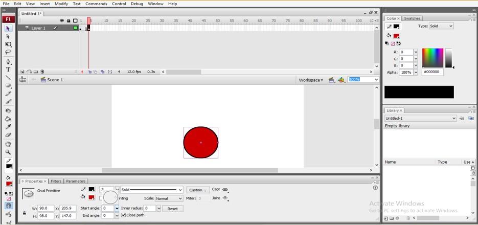 Animation in Adobe Flash - 17