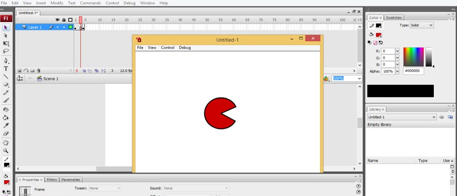 Animation in Adobe Flash - 19