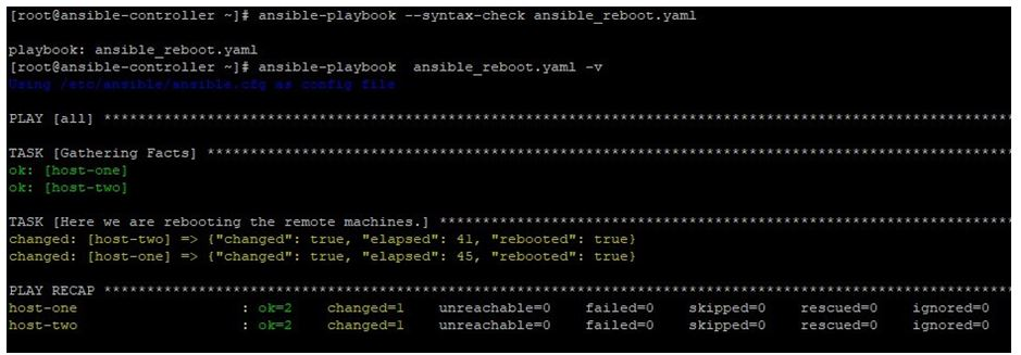 Ansible Reboot 1