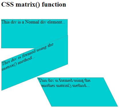 skew() function Example 6