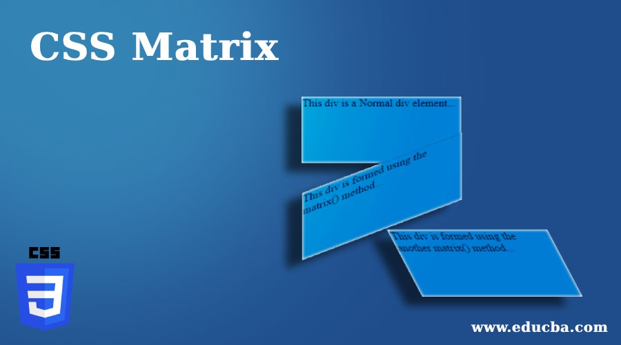 CSS Matrix