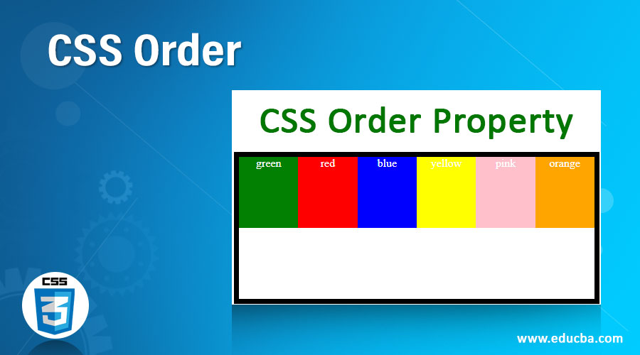 CSS Order