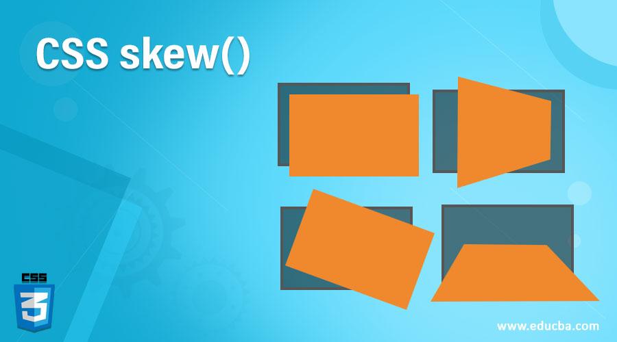 CSS skew()